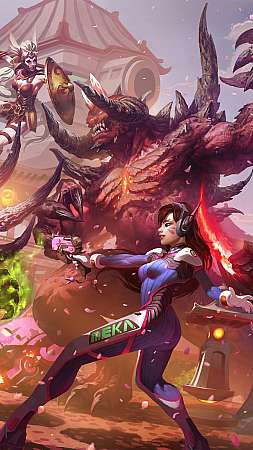 Hanamura showdown Móvil Vertical fondo de escritorio