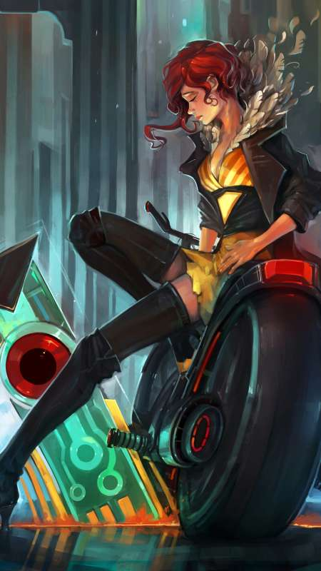Transistor fan art Móvil Vertical fondo de escritorio