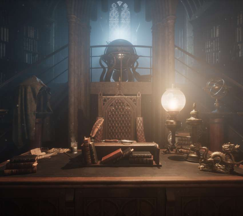 UE4 Dumbledore's office Móvil Horizontal fondo de escritorio