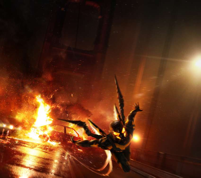 Ant-Man: YellowJacket's Sizzle-Reel, pitch concept Móvil Horizontal fondo de escritorio