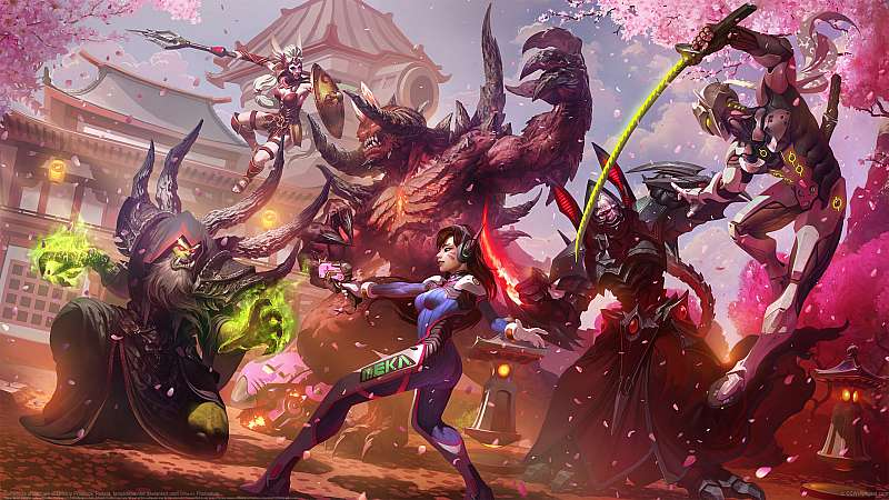 Hanamura showdown fondo de escritorio