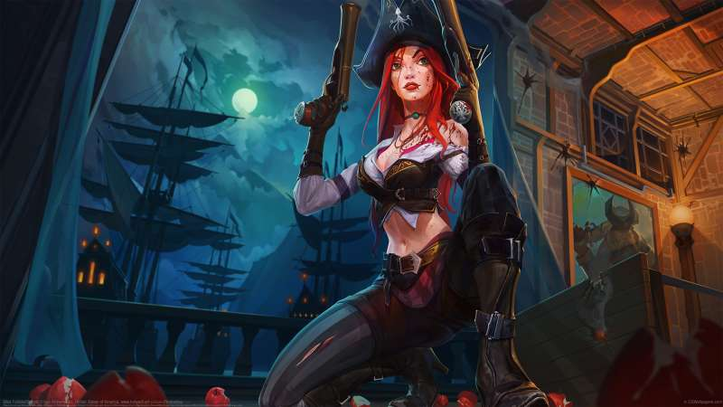 Miss Fortune fan art fondo de escritorio