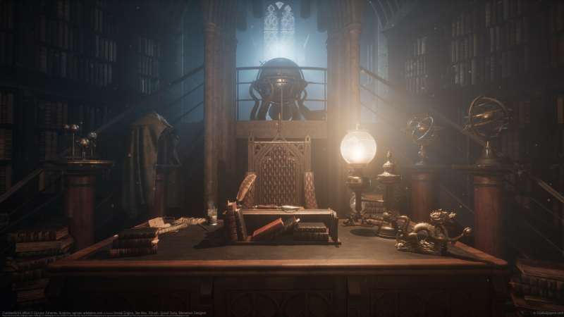 UE4 Dumbledore's office fondo de escritorio
