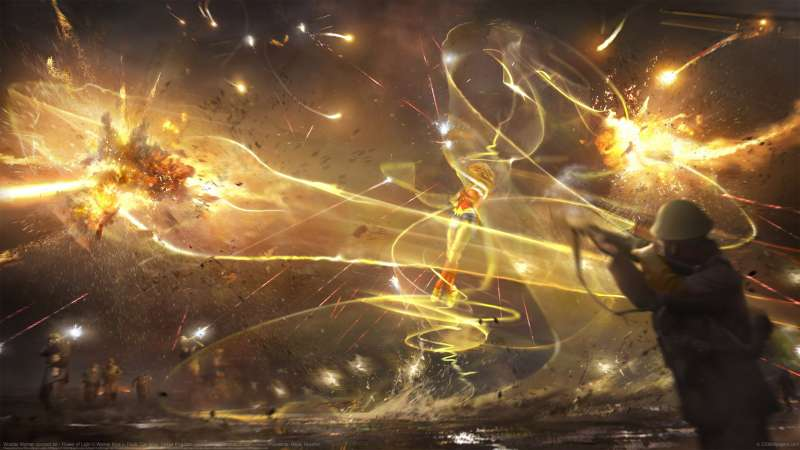 Wonder Woman concept art - Flower of Light fondo de escritorio